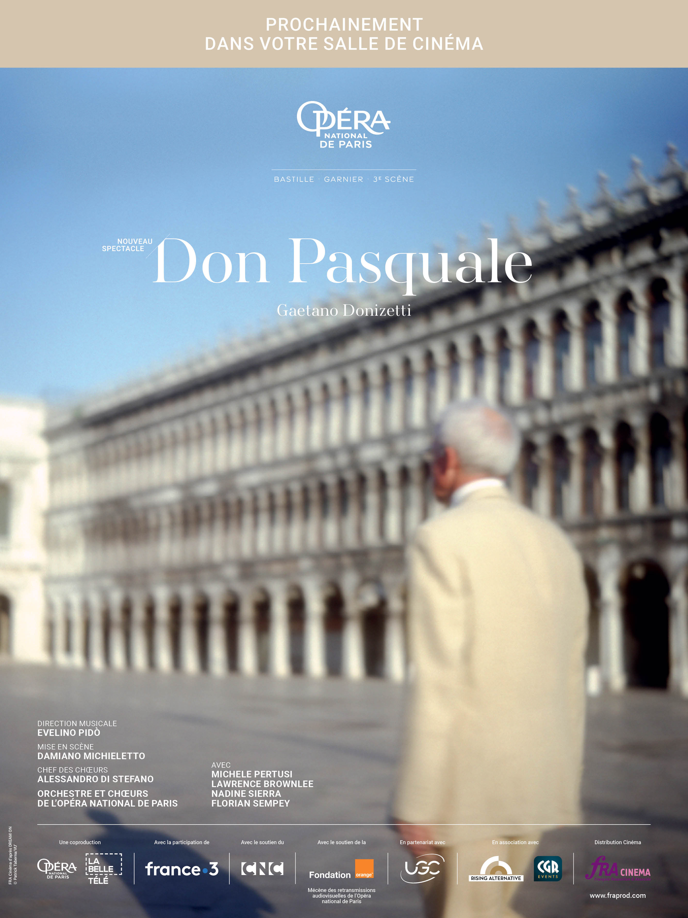 CINÉSPECTACLE: DON PASQUALE